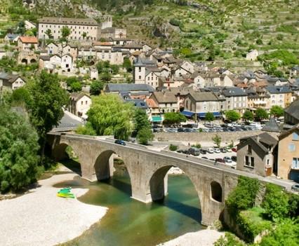 Sainte-Enimie gorge du Tarn (Lozère)